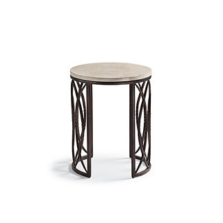 Valetta Iron Round Side Table
