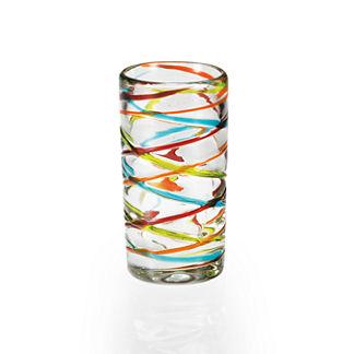 Margaritaville Swirl Shot Glasses, Set of Six