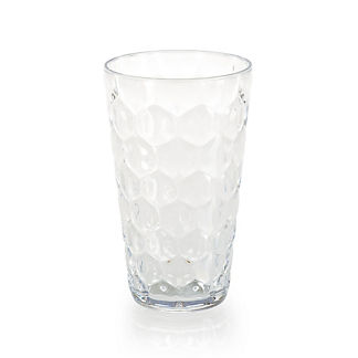 Honeycomb Highball Glasses, Set of Four