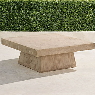 Haddon Faux Wood Coffee Table