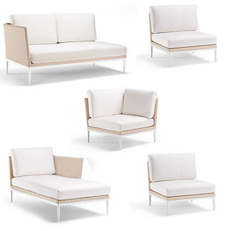 Palazzo Shell 5-pc. Right-facing Chaise Set