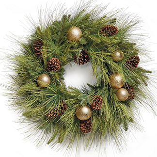 Sun Valley Pre-Decorated Wreath