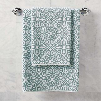 Resort Tile Hand Towel