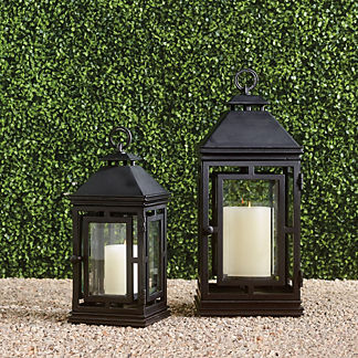 Cast aluminum outdoor lighting frontgate chatham lantern workwithnaturefo