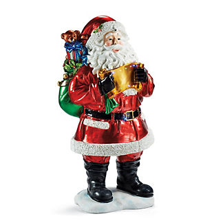 Fiber-optic Santa with Gift Bag