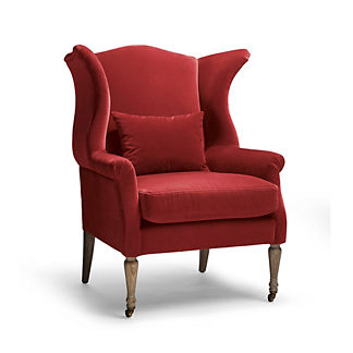 Henry Upholstered Chair in Paprika