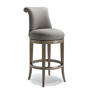 Ellison Swivel Bar Height Bar Stool (30