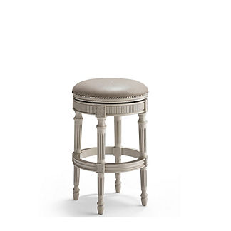 Chapman Swivel Backless Bar Stool (30