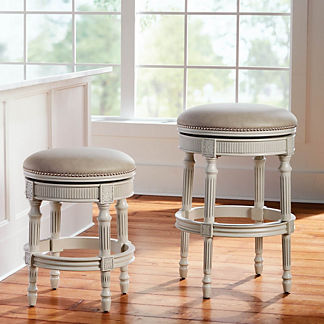 Chapman Backless Swivel Bar & Counter Stool