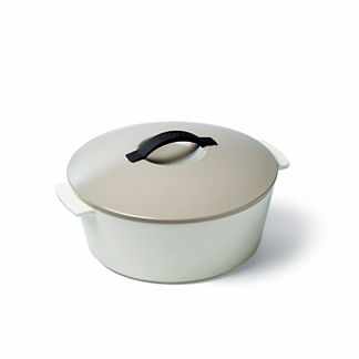 Donatella French Porcelain Oval Cocotte