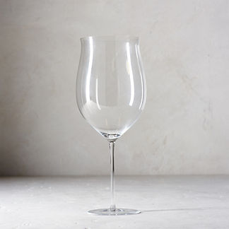 Obsession Burgundy Glasses, Set of Two