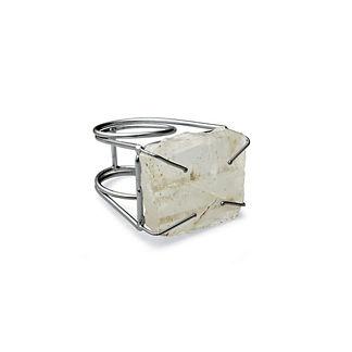 Donatella Stone Napkin Rings, Set of Four