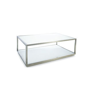 Metropolitan Coffee Table in White Finish