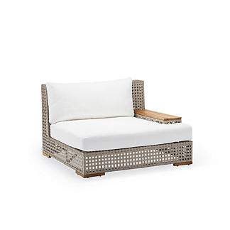 Palisades Right-facing Lounge Chair with Cushions, Special Order