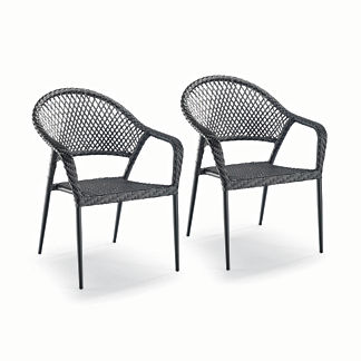 Lorenzo Cafe Chairs, Set of Two