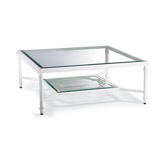 Grayson Coffee Table in White Finish