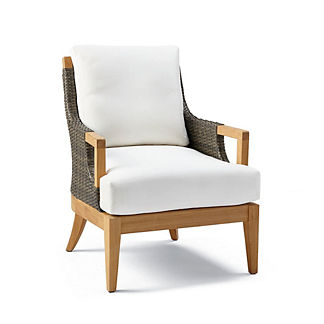 Roseau Lounge Chair with Cushions