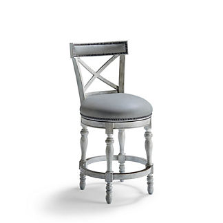 Griffith X-Back Swivel Counter Stool (26