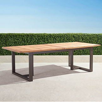 Pierce Extending Teak Dining Table