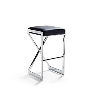 Arrigo Leather Bar Height Bar Stool