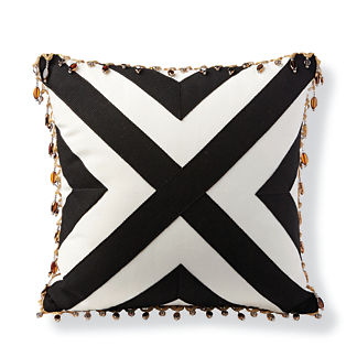 Crossing Path Outdoor Pillow