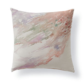 Watercolor Sky Outdoor Pillow
