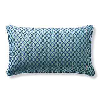 Serene Lace Outdoor Lumbar Pillow