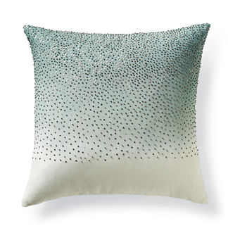Luca Ombre Beaded Decorative Pillow