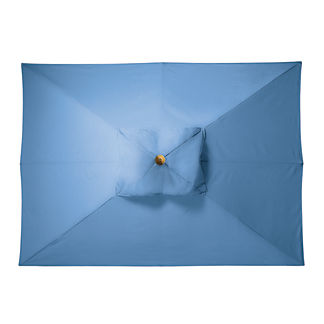 8' x 11' Rectangular Outdoor Market Umbrella