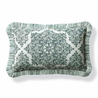 Kenzi Emerald Outdoor Lumbar Pillow