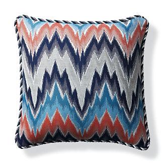 Fiamma Ikat Flame Outdoor Pillow