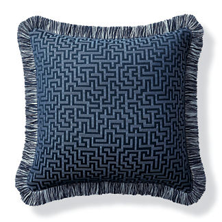 Ionian Key Air Blue Outdoor Pillow