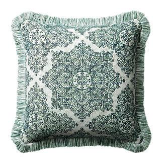 Kenzi Emerald Outdoor Pillow