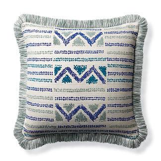 Porto Novo Cobalt Indoor/Outdoor Pillow