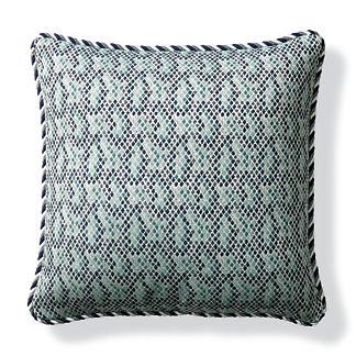 Taipan Luxe Jade Outdoor Pillow
