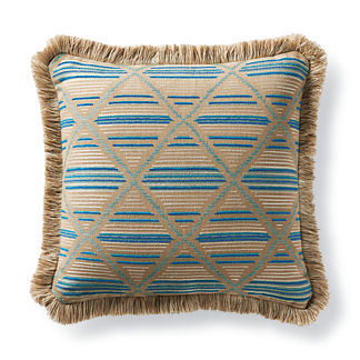 Tribal Craft Spice Outdoor Pillow