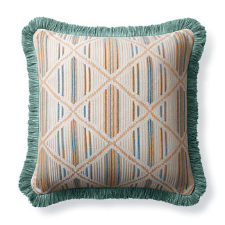 Tribal Craft Peche Outdoor Pillow