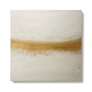 White Gold Wall Art
