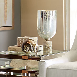 Luster Candle Holder Hurricane