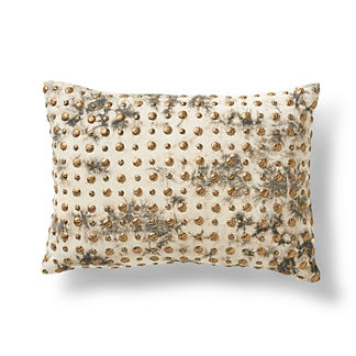 Jax Embroidered Lumbar Decorative Pillow