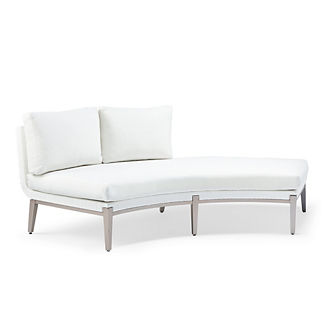 Taro Left-Facing Chaise with Cushions by Porta Forma, Special Order