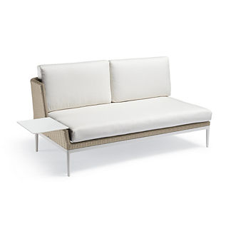 Palazzo Shell Left-facing Sofa with Table, Special Order