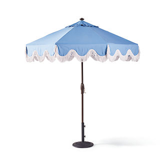 Milos Air Blue Designer Umbrella