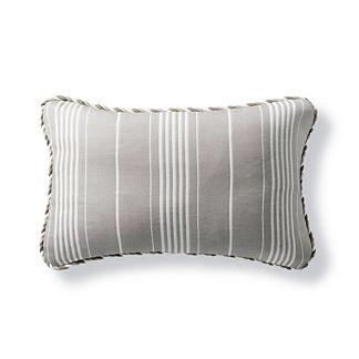 Byway Dove Outdoor Lumbar Pillow