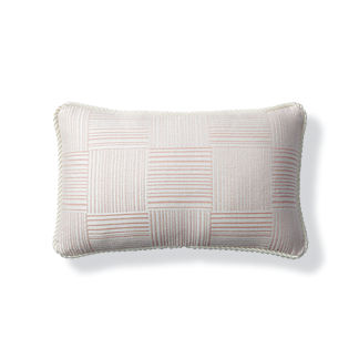 Chatham Check Petal Indoor/Outdoor Lumbar Pillow