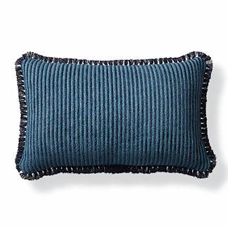 Dalaman Peacock Outdoor Lumbar Pillow