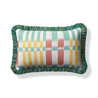 Havasu Falls Fiesta Outdoor Lumbar Pillow