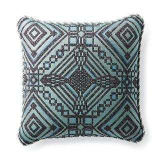 Torrean Diamond Fern Outdoor Lumbar Pillow