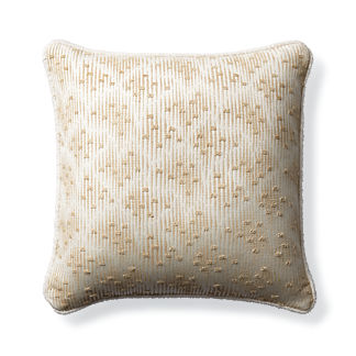 Acoustic Effect Sand Outdoor Pillow