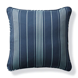 Byway Navy Outdoor Pillow